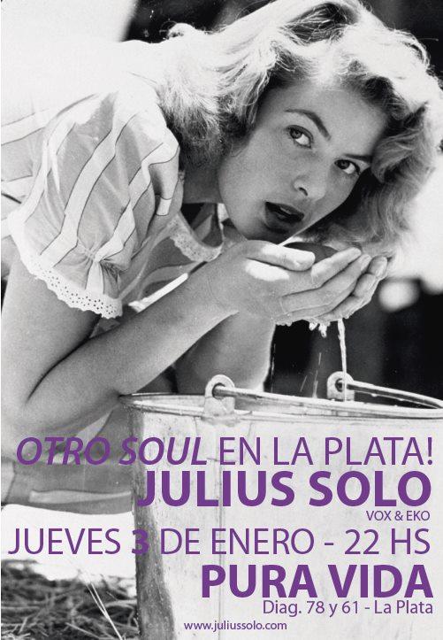 Julius Solo en Pura Vida